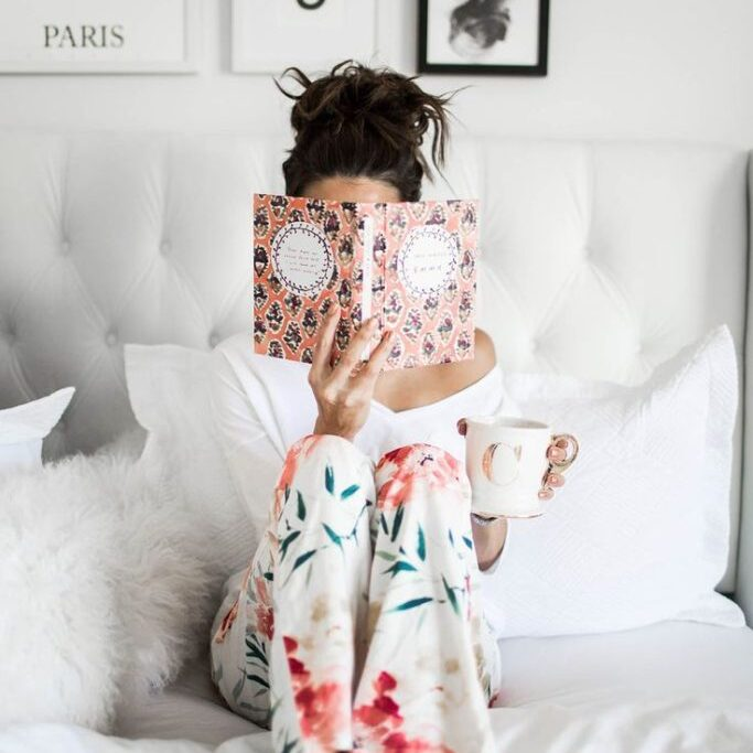 Lately, I have been gravitating towards all the cozy pajama sets! We are up at the cabin, and I made sure to pack all my best PJ's